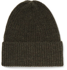 The Workers Club - Ribbed Merino Wool Beanie