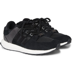 adidas Originals EQT Support Ultra Nubuck, Leather and Mesh Sneakers