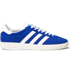 adidas Originals Jogger SPZL Leather-Trimmed Suede Sneakers