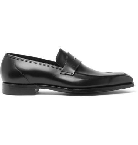 George Leather Penny Loafers - BurgundyGeorge Cleverley j8QvNraoGI
