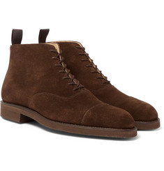 George Cleverley - William Cap-Toe Suede Boots