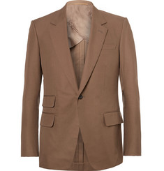 Kingsman Brown Eggsy Slim-Fit Cotton-Twill Suit Jacket