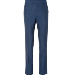 Kingsman Blue Eggsy Slim-Fit Wool, Silk, Mohair and Linen-Blend Suit Trousers
