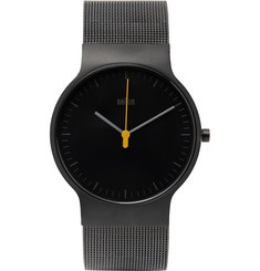 Braun BN0211 Classic Slim Stainless Steel Mesh Watch