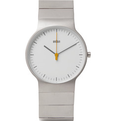 Braun BN0211 Classic Slim Stainless Steel Watch