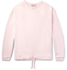 Remi Relief Drawstring Loopback Cotton-Jersey Sweatshirt