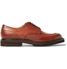 Cheaney - Chiswick Pebble-Grain Leather Derby Shoes