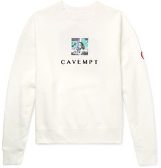Cav Empt Embroidered Printed Loopback Cotton-Jersey Sweatshirt
