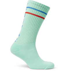 Cav Empt Ribbed Cotton-Blend Socks