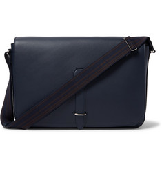 Dunhill Hampstead Leather Messenger Bag