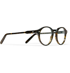 Cutler and Gross - Round-Frame Tortoiseshell Acetate Optical Glasses