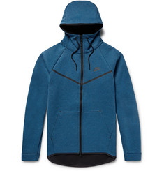 Nike Sportswear Slim-Fit Cotton-Blend Tech Fleece Zip-Up Hoodie