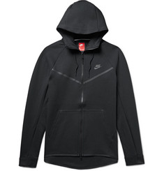 Nike Sportswear Windrunner Cotton-Blend Tech Fleece Zip-Up Hoodie
