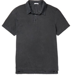 James Perse Slim-Fit Supima Cotton Polo Shirt