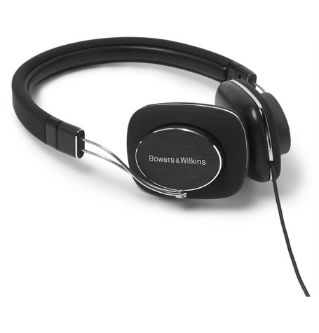 BOWERS & WILKINS P3 S2 Foldable Headphones in Black