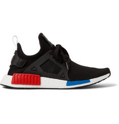 adidas Originals NMD XR1 Rubber-Trimmed Primeknit Sneakers
