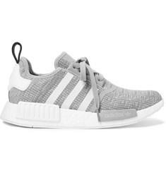 adidas Originals NMD R1 Rubber-Trimmed Mesh Sneakers