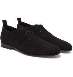 Helbers - Suede Derby Shoes