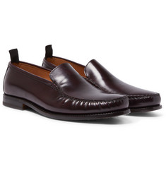 Helbers - Polished-Leather Loafers