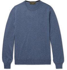Cordings Mélange Virgin Wool Sweater