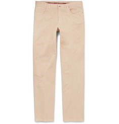 Cordings Stretch-Cotton Twill Trousers