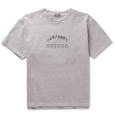 Cav Empt Embroidered Cotton-Jersey T-Shirt