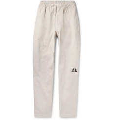 Cav Empt Brushed-Cotton Twill Drawstring Trousers
