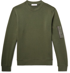 Sandro Loopback Cotton-Jersey Sweatshirt