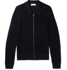 Sandro Wool-Blend Zip-Up Cardigan