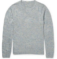 Massimo Alba - J. Pierre Mélange Linen and Silk-Blend Sweater