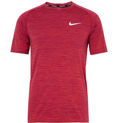 Nike Running - Mélange Knitted Dri-FIT T-Shirt