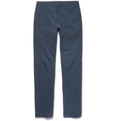 A.P.C. Slim-Fit Textured Stretch-Cotton Chinos