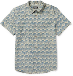 A.P.C. Printed Cotton Shirt