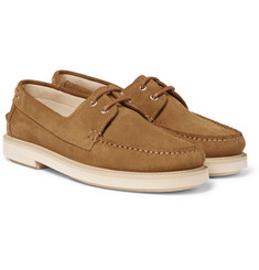 A.P.C. - Basile Suede Boat Shoes