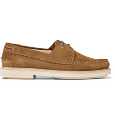 A.P.C. Basile Suede Boat Shoes