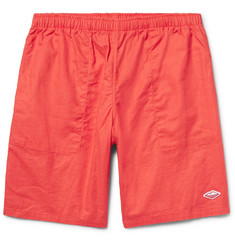 Battenwear Active Lazy Linen and Cotton-Blend Shorts