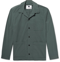 NN07 Jones Cotton-Blend Overshirt