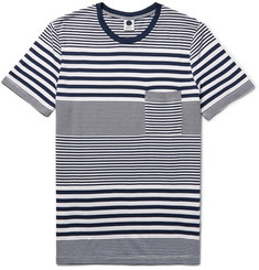 NN07 Roper Striped Cotton-Blend Jersey T-Shirt