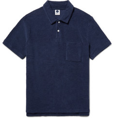 NN07 Quince Cotton-Terry Polo Shirt