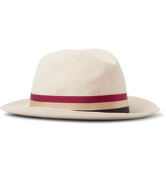 Lock & Co Hatters Monaco Cotton-Calico Trilby Hat
