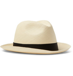Lock & Co Hatters - Grosgrain-Trimmed Straw Panama Hat