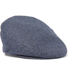 Lock & Co Hatters - Glen Silk-Jacquard Flat Cap