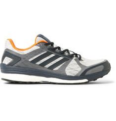 Adidas Sport Supernova Sequence 9 Rubber-Trimmed Mesh Running Sneakers