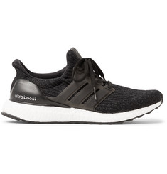 Adidas Sport - Ultra Boost Rubber-Trimmed Primeknit Running Sneakers
