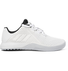 Adidas Sport CrazyPower Rubber-Trimmed Mesh Sneakers