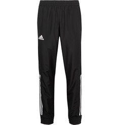 Adidas Sport - Club Tapered Jersey-Panelled Climacool Tennis Sweatpants