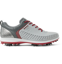 Ecco Golf Ecco Biom G2 Rubber-Trimmed Leather Golf Shoes