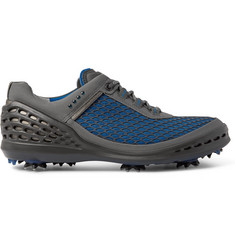 Ecco Golf - Cage Evo Rubber-Panelled Mesh Golf Shoes