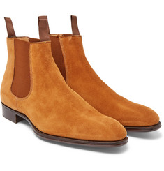 Kingsman - + George Cleverley Jason Suede Chelsea Boots