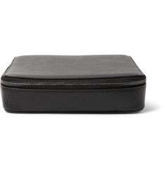 This Is Ground - Grande Tech Dopp Kit Leather Travel Organiser